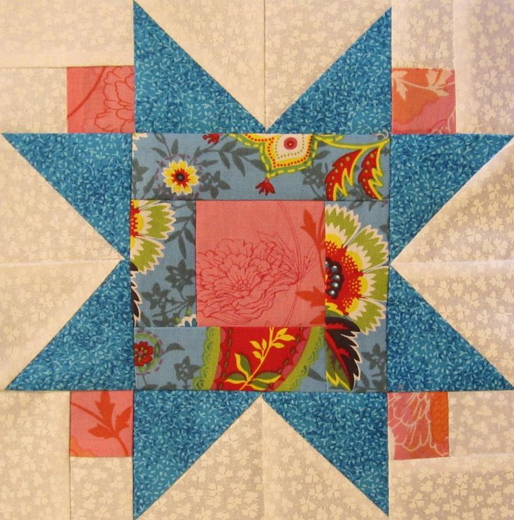 star quilt block pattern free
