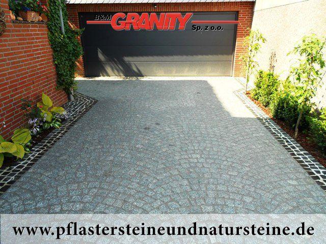 """B&M GRANITY - Winter-Rabatt - frostbeständige Pflastersteine aus Granit (grau, gespalten, """"Salz und Pfeffer""""), Granit-Pflastersteine http://www.pflastersteineundnatursteine.de/fotogalerie/pflastersteine/"""