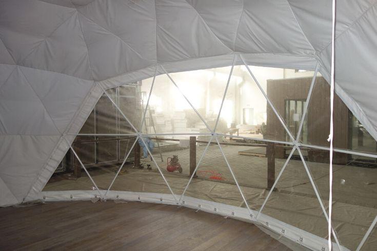 Modular Eco Resort Dome inside