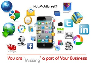 If you haven't gone mobile in your business you are definitely missing out... #mobile #mobileapps #business