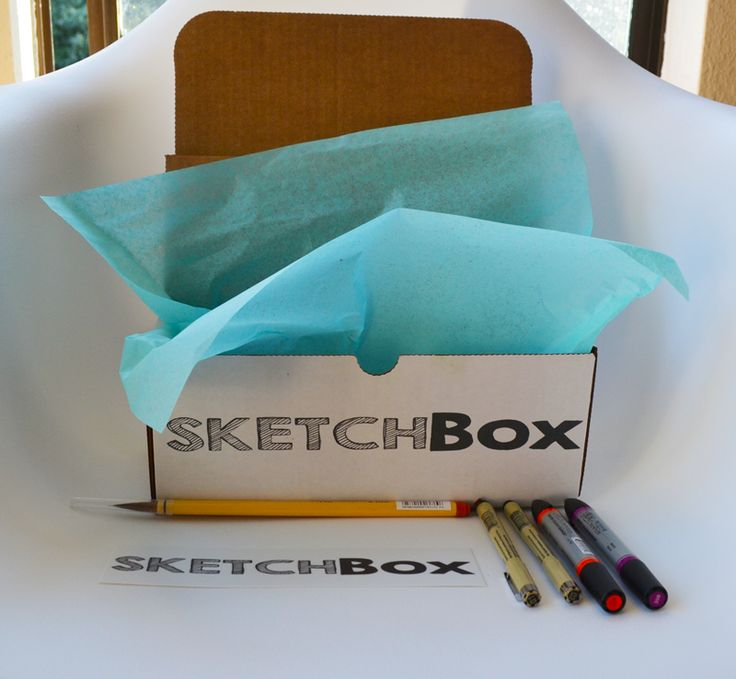 SketchBox - April's Box: Watercolor. Featured artist: Morgan Ashley. www.getsketchbox.com