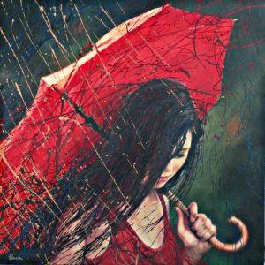 Golden Rain by Alexey Slusar