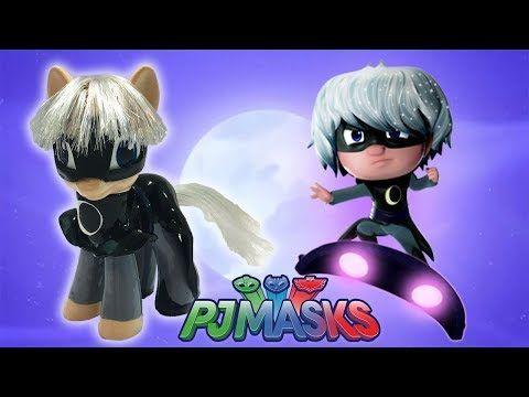 Custom LUNA GIRL PJ MASKS PONY Tutorial DIY Disney Jr MLP My Little - YouTube