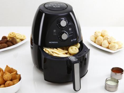 Fritadeira Elétrica Air Fryer/Sem Óleo Mondial com as melhores condições você encontra no site do Magazine Luiza. Confira!