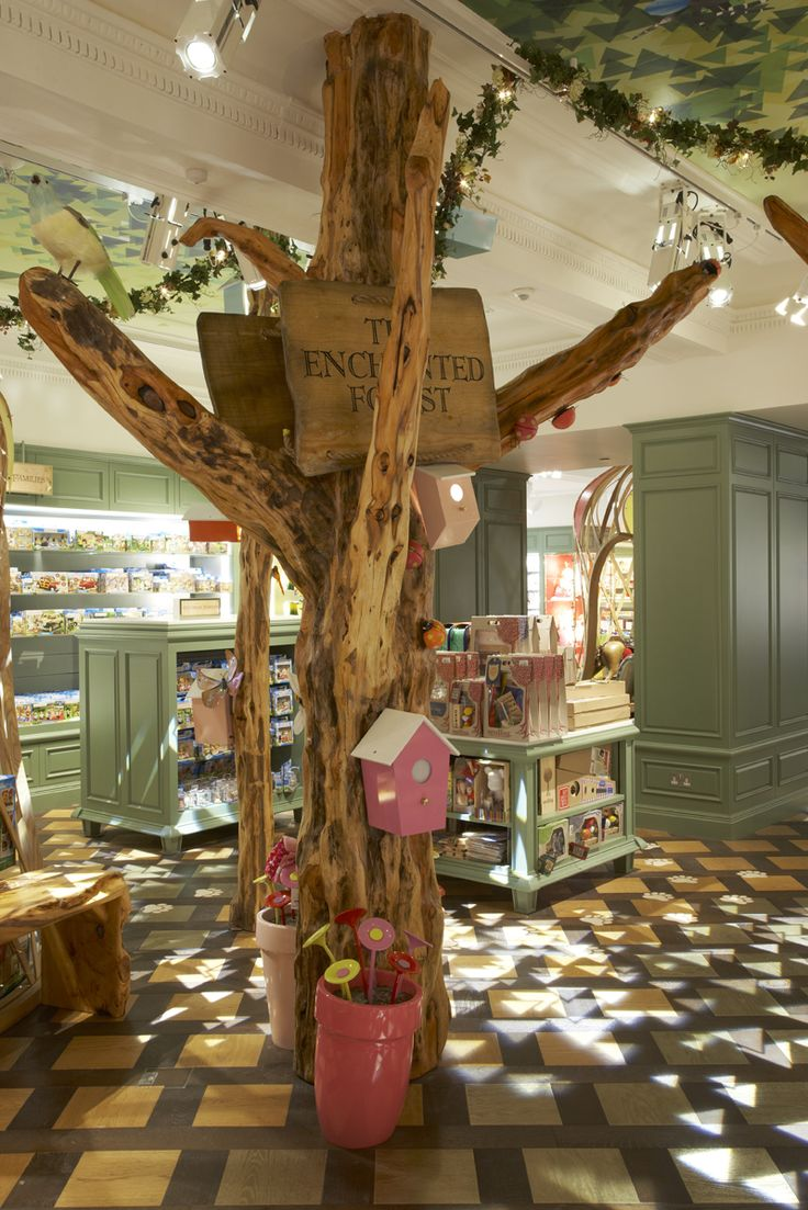 Great Store Display,  Creates interest and depth. Toy Kingdom, Harrods | Shed.
