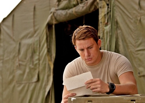 Channing Tatum - DEAR JOHN (THE BOOK)