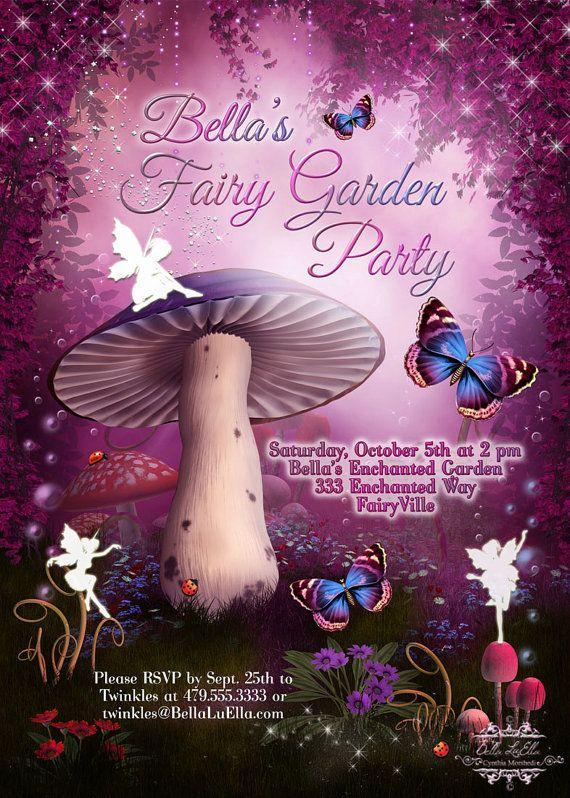 The 25 best Fairy invitations ideas – Fairy Birthday Party Invitation Wording
