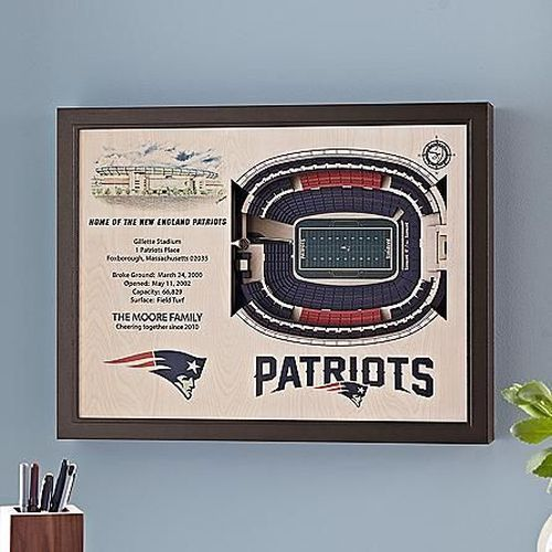 Nfl Stadium Wall Art | Chicago Gifts