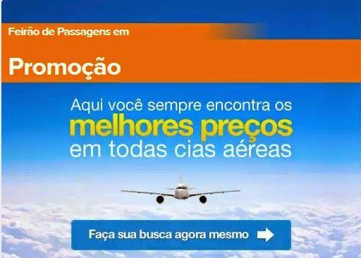 ViajaNet passagens aéreas em promoção - Gol, Latam, Azul
