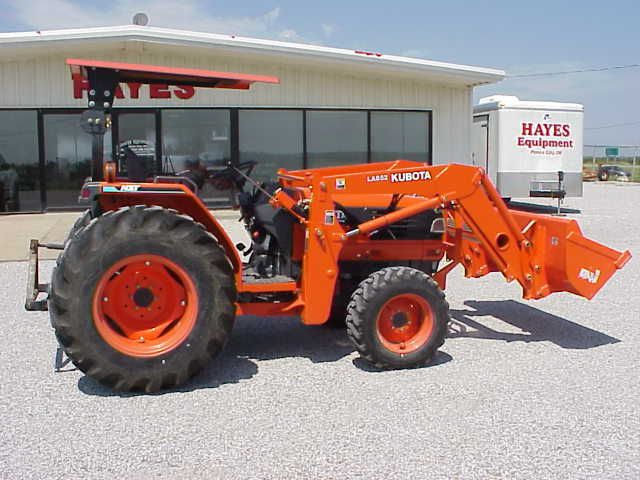 Kubota Tractor Prices | kubota l4610 hydrostat 4x4 diesel tractor with kubota la852 front end ...
