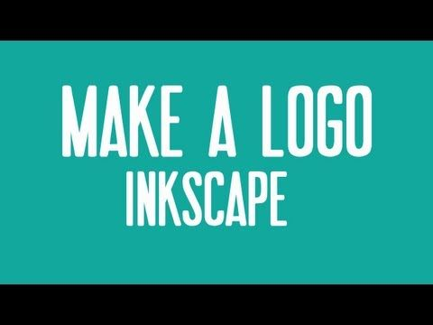 ▶ How To Make A Logo In Inkscape - YouTube