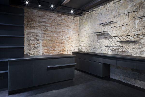 magasin de fleurs architecte m lanie lallemand flucher photo sophie loubaton projet. Black Bedroom Furniture Sets. Home Design Ideas