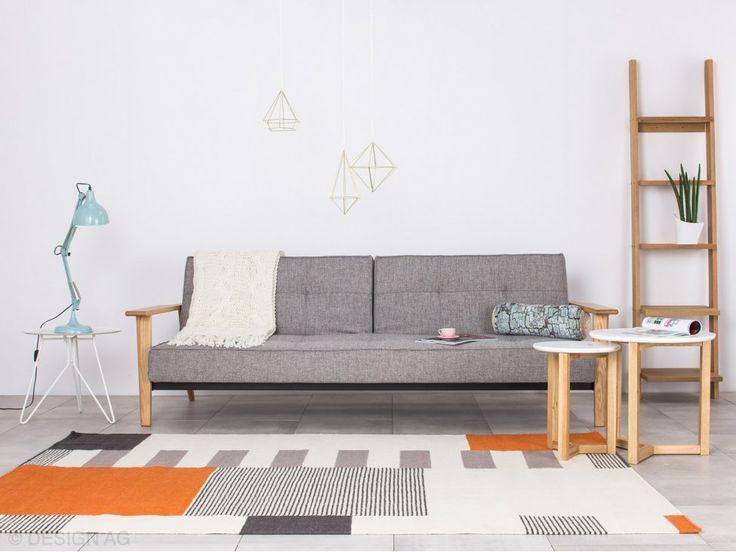 Dywan Graphic Pomarańczowy 140x200 cm — Dywany Linie Design — sfmeble.pl