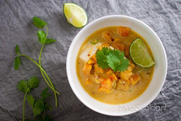 Pompoencurry Thaise stijl