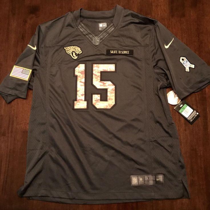 Mens XL NIKE  Jacksonville Jaguars Salute To Service Allen Robinson Jersey RARE  | eBay