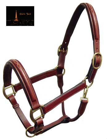 Paris Tack Fancy Stitch Padded Leather Adjustable Horse Halter - Chestnut Full Paris Tack http://www.amazon.com/dp/B008G1V5JA/ref=cm_sw_r_pi_dp_.27twb1MEWZMT