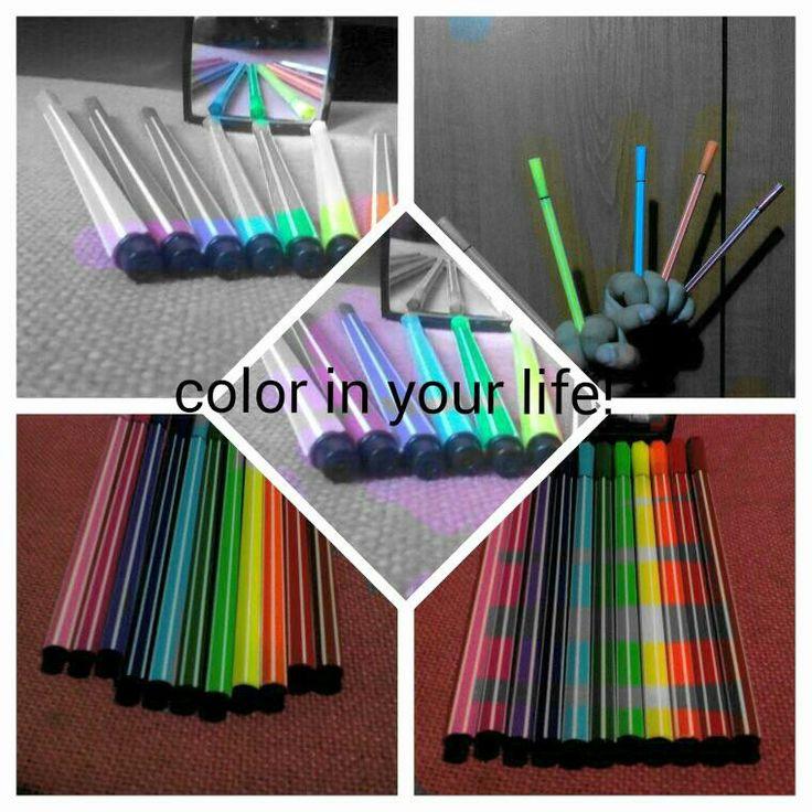 Δωσε χρωμα στην ζωη σου!