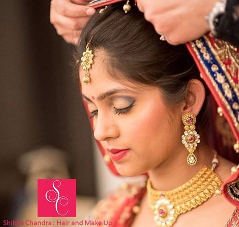 Shikha Chandra: ‪#‎Hair‬ and ‪#‎Makeup‬ Brides that define beauty and grace!