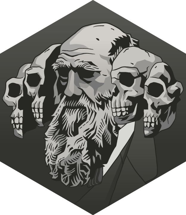 SCIENTISTS, by artist Alan Kennedy on Flickr Charles Darwin and the descent of modification via natural selection