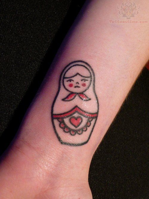 12 best images about Russian Doll Tattoos on Pinterest