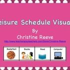 This set of free leisure mini-schedule visuals is great for students with autism and those with behavioral issues to help keep students engaged in ...