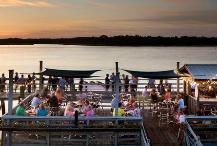 Hudson's Seafood on the Docks restaurant in Hilton Head Island, South Carolina