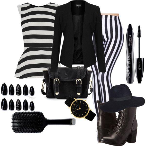 Zebra by skezjablog on Polyvore featuring moda, Oasis, Topshop, Steve Madden, Poverty Flats, Larsson & Jennings, Lancôme and GHD