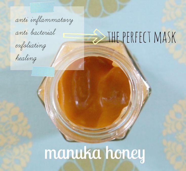 Manuka Honey for Skin Care - Jenni Raincloud ~ 1 TBL Honey, 2 drops Lemon EO, shake of Cinn., 1 tsp Coconut oil