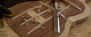 Music in the making ... ukulele construction, Lichty Ukulele