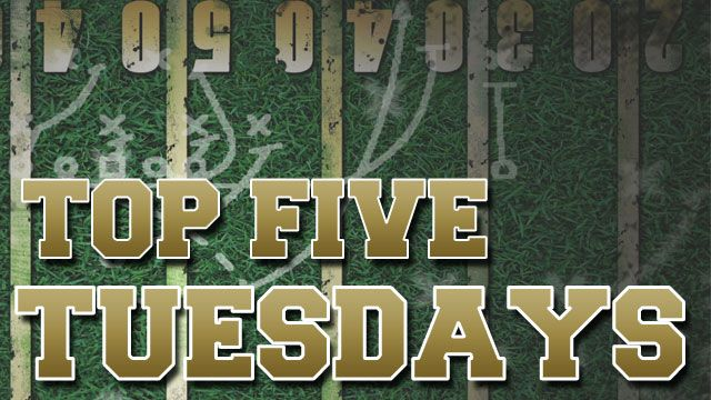 Final Top Five Tuesday high school football rankings | Sports  - Home