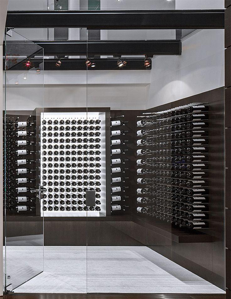 10 best ideas about wine cellar modern on pinterest for Garage wine cellar