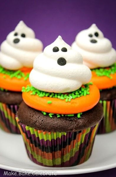 boo tiful cupcakes 46 awesome halloween recipes - Halloween Inspired Cupcakes