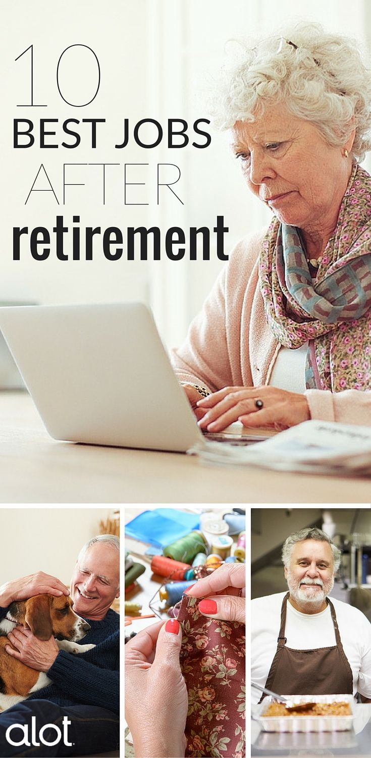Retirement doesn't have to mean the end of your career; in fact, it can mean the start of a brand new one. Whether you want to travel the world or just earn a little extra money, here's a countdown of the 10 best jobs after retirement.