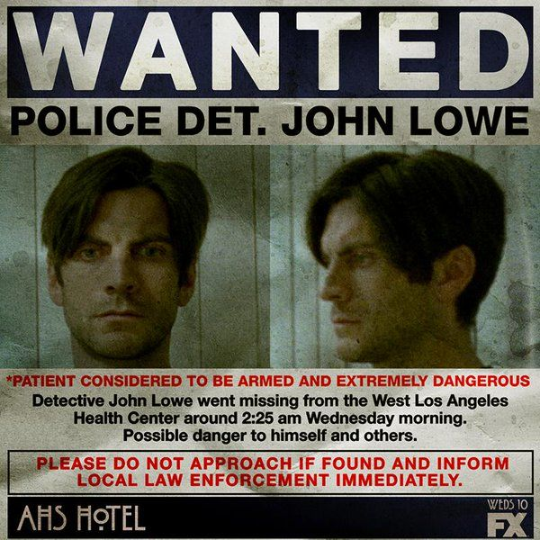 John - Wes Bentley - AMERICAN HORROR STORY: HOTEL