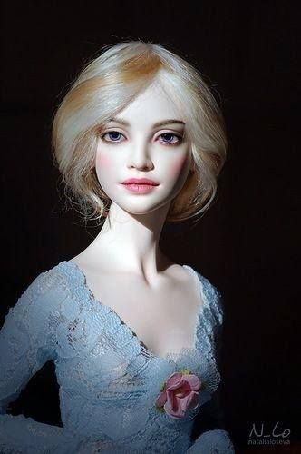 Artist porcelain doll - Natalia Loseva
