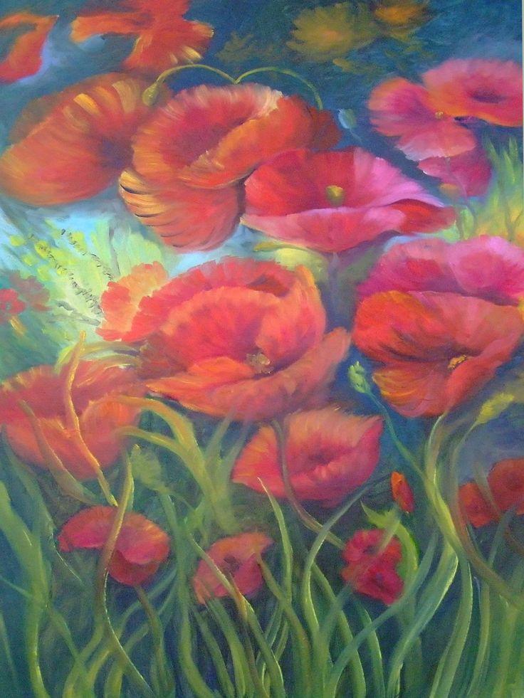 """""""Flores Silvestres"""" de Isabel Gallardo."""