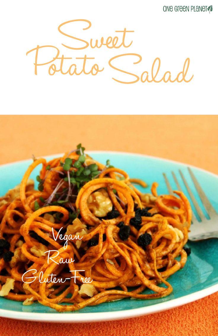 Sweet Potato Salad [Raw, Vegan, Gluten-Free]