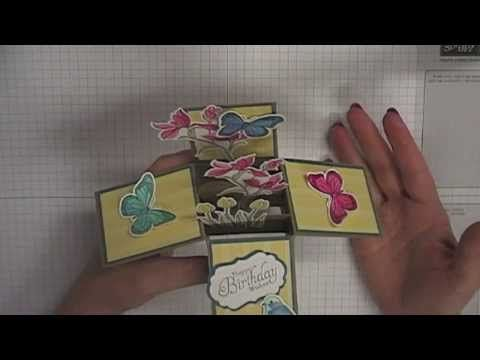 Stamping T! - Card in a Box Fits in a standard C6 envelope