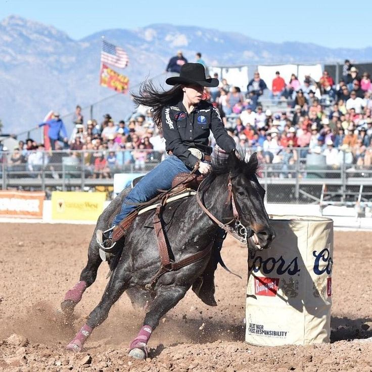 Love #rodeo? Check out our website to see which 10 rodeos packed the biggest punch this year. Search keyword: Rodeos. On a side note...how great do @nellie.williams.miller and Sister look in this photo? We love them! PC: @officialaqha. #iamcowgirl #cowgirlmagazine #cowgirls #horses #horsesofinstagram