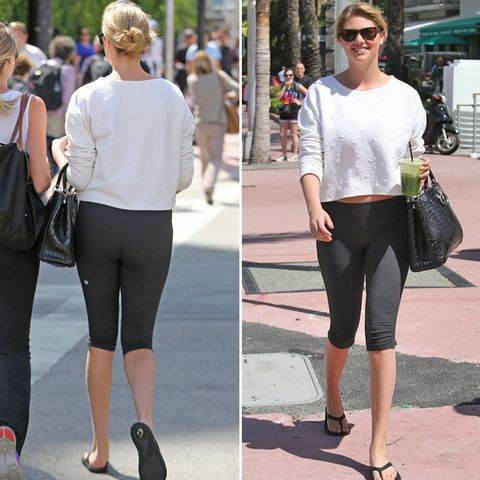 Kate Upton In Yoga Pants