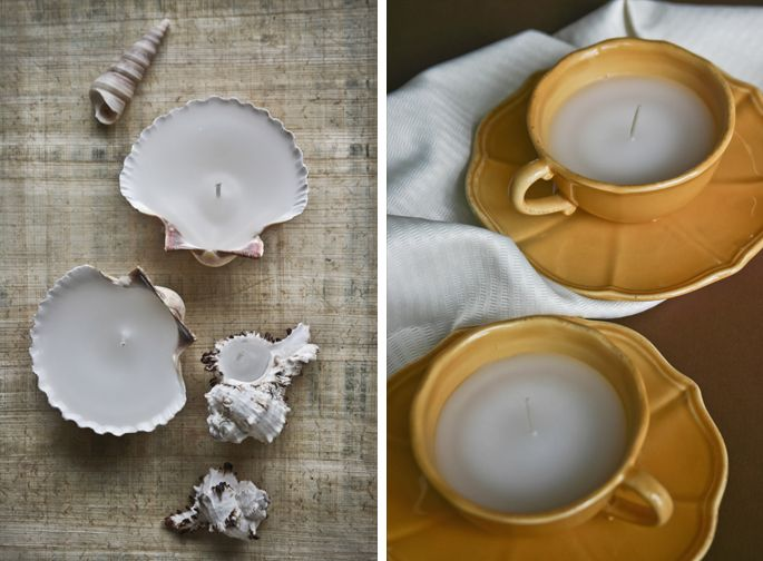 17 best images about teacup crafts on pinterest vintage for Candle craft ideas