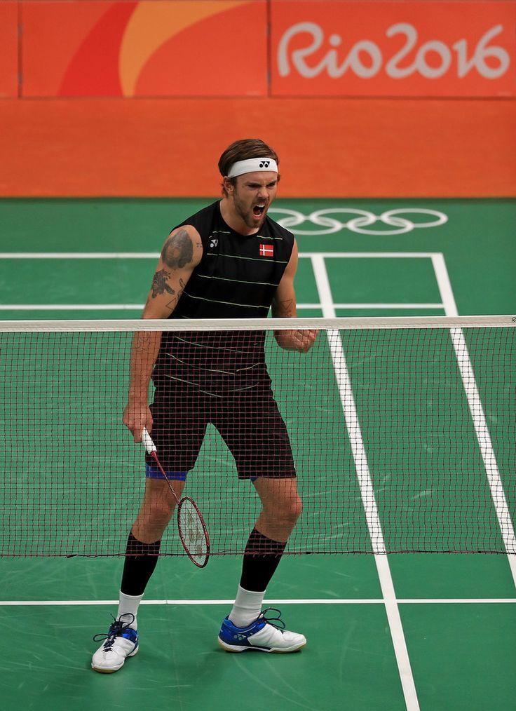 Jan Jorgensen Pictures Badminton - Olympics: Day 10 -
