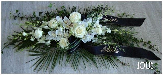 smuteční květiny #1