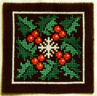 winter square pattern