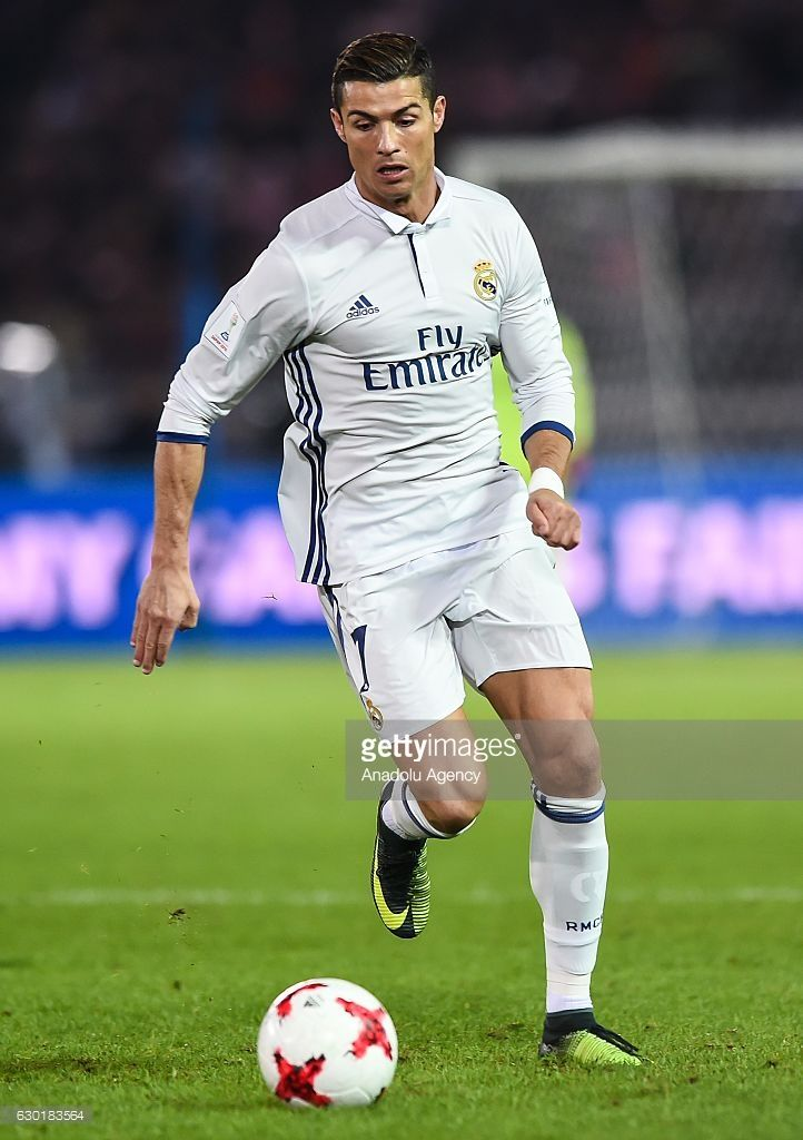 Cristiano Ronaldo of Real Madrid in action during the FIFA Club World Cup final match between Real Madrid and Kashima Antlers at International Stadium Yokohama in Yokohama, Japan on December 18, 2016.