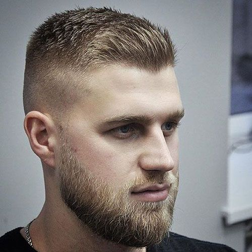 spiked hair styles white boy haircuts beard crew cuts and haircuts 5568