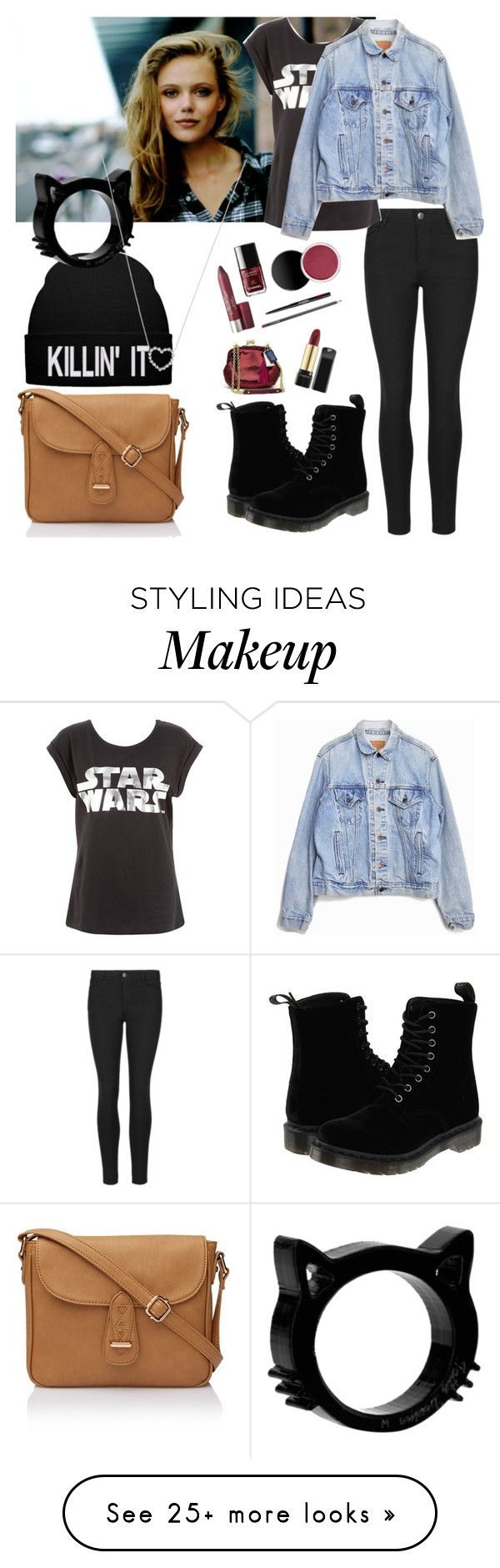 """late OOTN ~ Kota"" by music-is-my-life-558 on Polyvore featuring FRIDA, Levi's, Dr. Martens and Tiffany & Co."