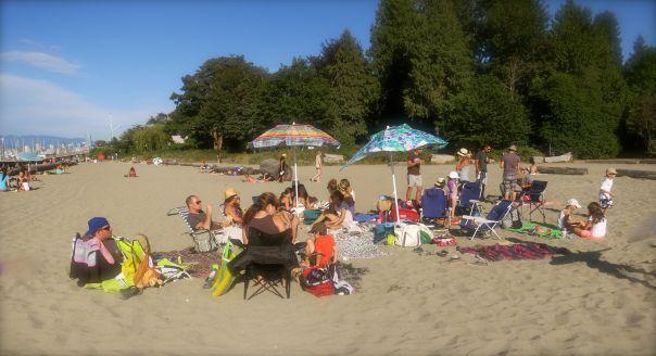 Beach Blanket Birthday Party