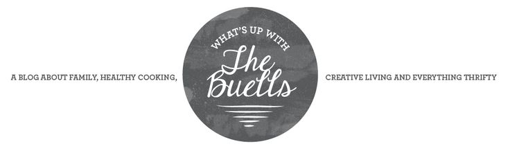 DIY Hand Stamped Tea Towels and handmade stamp tutorial : What's Up with The Buells