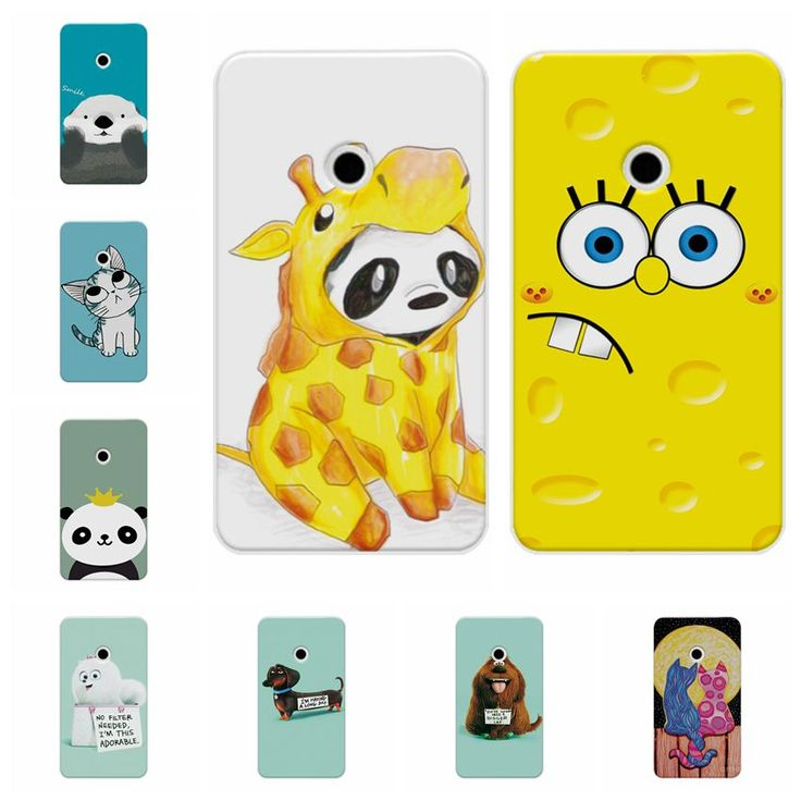 For Nokia 520 535 Hard PC Case Cover For Microsoft lumia 520 N520 535 Case Bear Cartoon Painting Protector For Nokia 520 Case